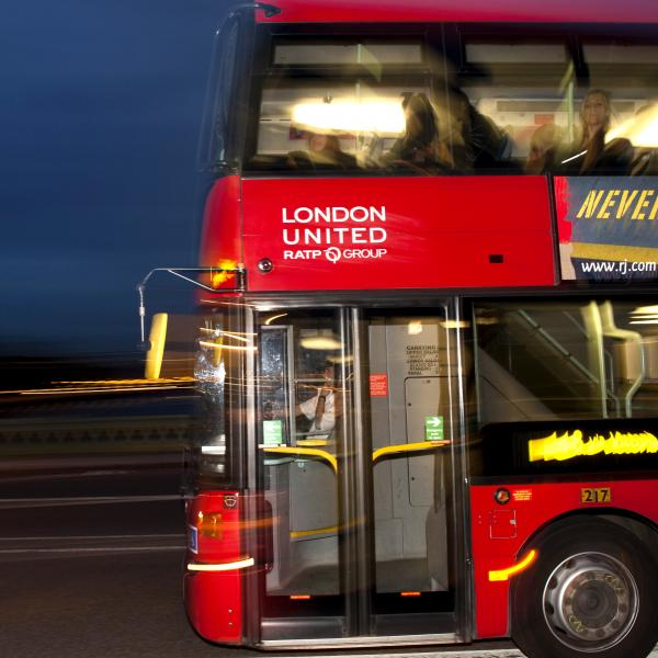 RATP De London bus