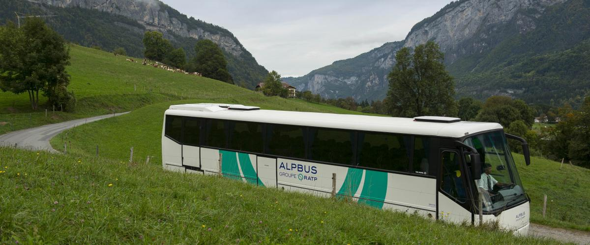 Rhone Alpes France bus mobility