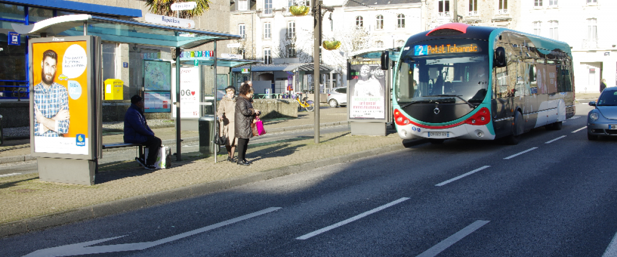 Vannes, France, Bus in Mobility