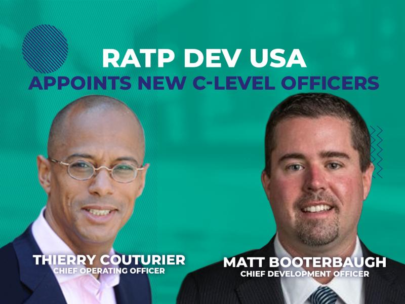 RATP Dev USA Appoints New C-Level Officers